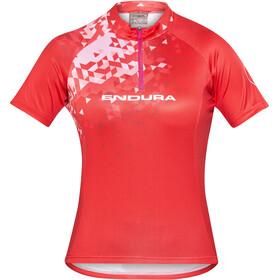 Endura Singletrack II Kortærmet cykeltrøje Damer, red